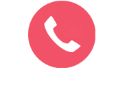 call icon - phone on pink background