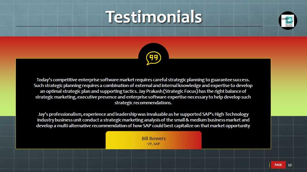 software testing testimonials